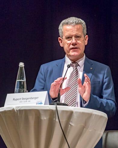 Rupert Steigenberger (gemeinsamer Kandidat von EUW, Bürgergemeinschaft und SPD)