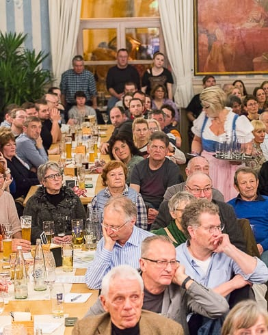 Full House in der Post Aufkirchen
